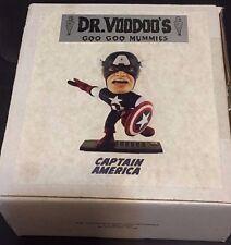 CAPTAIN AMERICA Dr. Voodoo's GOO GOO MUMMIES Shrunken HERO Model KIT Signed & #d