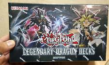 YuGiOh 2017 Legendary Dragon Decks (3 Decks) Factory Sealed Box