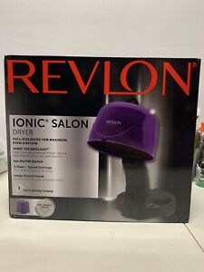 Revlon Ionic 1875W Hard Bonnet Hair Dryer #RVDR5242, BRAND NEW FREE SHIPPING!