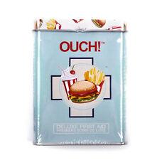 Comida rápida-primera ayuda en una lata-yesos/Band Aids