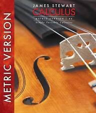 Single Variable Calculus, International Metric Edition by James Stewart...