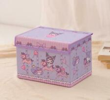 Kuromi square Storage Boxes Beauty Case Cosmetic Box clean bag cartoon gift