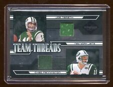 JETS QUAD GAME JERSEY /25 JOE NAMATH / CURTIS MARTIN / PENNINGTON / COLES 2005