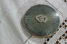 RARO PORTA CIPRIA VINTAGE DA COLLEZIONE  OLD ENGLISH POWDER COMPACT