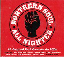 NORTHEN SOUL .. WILSON PICKETT & VARIOUS  .. 3 CD's .. 60 HITS .. 1960's OLDIES