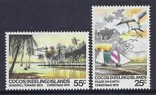 1979 COCOS ISLANDS CHRISTMAS SET OF 2 MINT MNH/MUH
