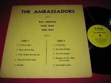 RARE PRIVATE POLKA INSTRUM LP - THE AMBASSADORS - RAY OREGGIA MIKE HINZ BOB RAU