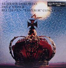 VLADIMIR HOROWITZ Beethoven Emperor Concerto - Fritz Reiner LP - RCA Red Seal