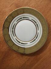 NEW L'Objet Mythologie Saucer 24k Gold/Rose Gold Limoges Porcelain Greek Design