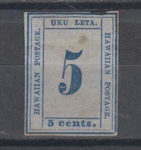 US  Hawaii type A8 F unused, Sperati forgery?