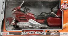 Honda Goldwing Motorcycle Red 1:6 Model MOTORMAX