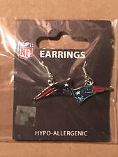 New England Patriots NFL Dangle Earrings