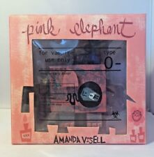 Munky King Amanda Visell Pink Elephant Vampire Vinyl Figure Drunky McSkunky Toy
