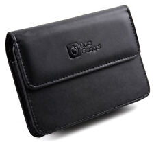 Black 5-inch GPS Wallet / Case Faux Leather for Garmin nuvi 2595 LMT, 2598 LMT