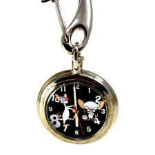 Pinky And The Brain Pocket Watch, Fossil Warner Bros. Collection, New Unworn $69