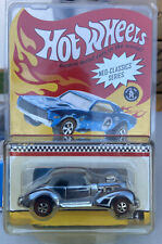 2005 Hot Wheels Neo-Classics, Classic Cord in Steel Blue, Redline, #8399/11000