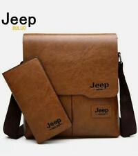 JEEP BULUO Leather Shoulder Bag  Messenger  Shoulder Pocket Bags made Leather