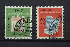 Briefmarken Internationale Briefmarkenausstellug IFRABA 1953 Michl Nr 171 + 172
