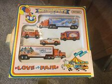 New. Vintage 1993 Matchbox Set.  Reithoffers - Love A Fair Circus Set.