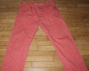 LEVIS 501 Jeans pour Homme W 36 - L 34  Taille Fr 46 (Réf # O332)