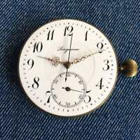LONGUEVUE Antique Pocket Watch High-Grade Repeater Movement 47 mm
