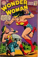 Vintage WONDER WOMAN #175 FN+ Silver Age DC Comic Evil Twin