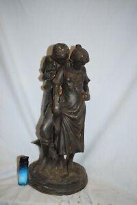 Liebespaar Bronze schöne Antikpatina 40cm