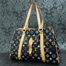 Rise-on LOUIS VUITTON MONOGRAM Multicolor Black Aurelia MM Handbag Tote Bag #10