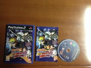Naruto Shippuden Ultimate Ninja 5 (PS2/PS3) Pal UK European Version English