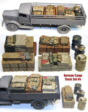 1/35 Scale Resin kit Opel Blitz German Cargo Truck Load #4 stowage set