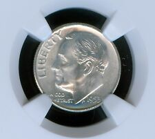 1953-S Silver  Roosevelt Dime  Grade MS66 by NGC ..