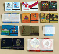 Disneyland Vintage Unused Matchbook - You Pick from 8