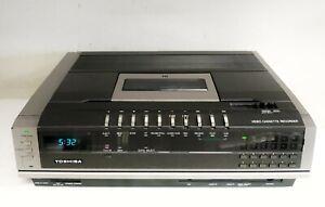 TOSHIBA V-8600B BETAMAX VIDEO CASSETTE RECORDER VCR - WORKING VINTAGE RARE