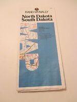 Rand McNally North & South Dakota Road Map