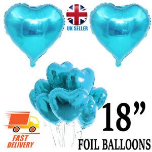 "18"" Love Heart Foil Helium Balloons Wedding Party Birthday Decoration valentine"