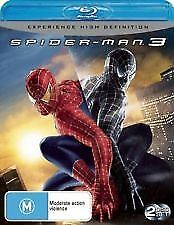 SPIDER-MAN 3 - BRAND NEW & SEALED 2-DISC BLU RAY (TOBEY MAGUIRE, JAMES FRANCO)