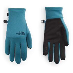 THE NORTH FACE Mens Etip Gloves, NWT, Mallard Blue, Large