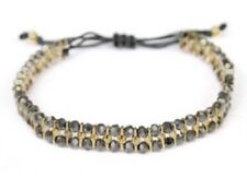 Stella And Dot Phoebe Bracelet Gold And Black - Authentic And New!