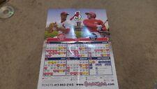 Springfield Cardinals 2019 Schedule Calendar Poster
