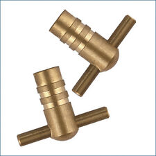Radiator Bleed Keys - Solid Brass Plumbing Tool Key
