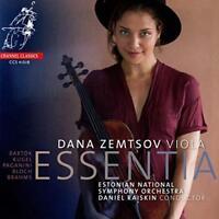 Dana Zemtsov - Essentia – Works For Viola & Orchestra By Bartok Kug (NEW CD)