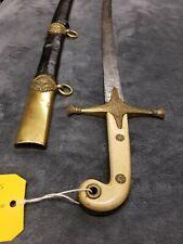 British General Officer Pattern 1831 Mameluke Sword/Saber W Scabbard London Made