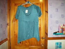 ***LOOK*** NEW BLUE/GREEN DETAILED TOP SIZE 22-24***