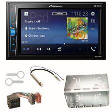 Pioneer MVH-A200VBT Bluetooth USB Einbauset für Golf 4 Passat Polo Ibiza 6L