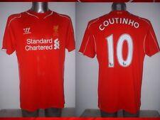 Liverpool COUTINHO Warrior Adult Large Football Soccer Jersey Shirt Brazil Top