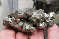 PYRITE OCTAHEDRAL CRYSTALS from HUANZALA MINE in PERU....ALL AROUND CRISTALLYZED