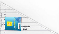 EZ 120 DEGREE TRIANGLE TEMPLATE - ACRYLIC RULER - PATCHWORK QUILTING