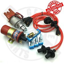 VW Beetle 009 Electronic Distributor Sports Coil,Red leads, Rotor,IRIDIUM plugs