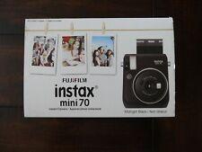Fujifilm Instax Mini 70 - Instant Film Camera - Midnight Black