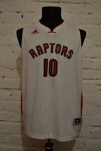 Authentic Demar Derozan Basketball Adidas Toronto Raptors Jersey Size XL Mens